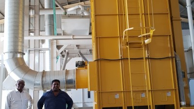 STATE-OF-THE-ART WAREHOUSING FOR AKSHATA TRADITIONAL RICE